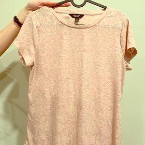 Pale pink Vera wang dress top